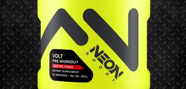 Neon Sport pre-workout Volt review