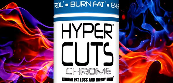 Preview of CTD Lab's upcoming resurrected fat burner Hyper Cuts Chrome