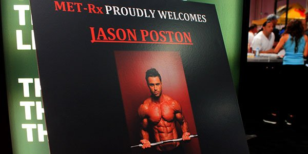 MET-Rx welcome IFBB men's physique competitor Jason Poston