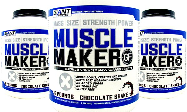 Giant's mass protein Muscle Maker launches in the US through Supplement Central