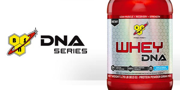 Whey DNA first supplement to be seen from BSN's simple series