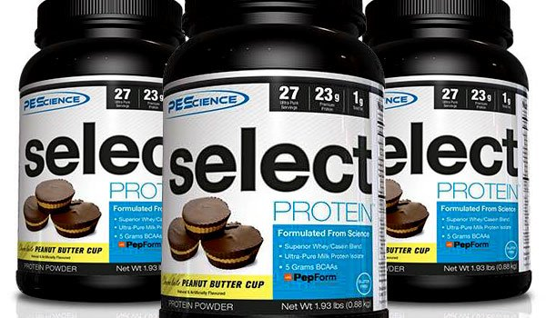 Peanut butter cup PES Select Protein official and 5 days away