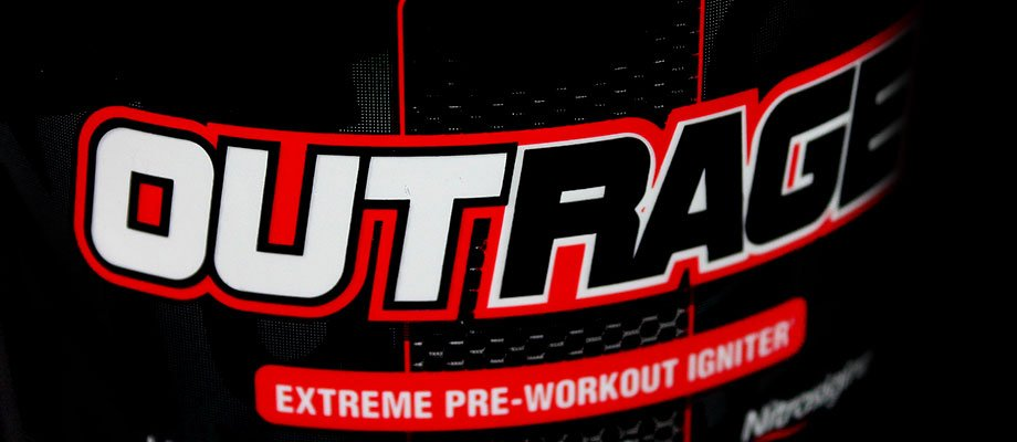Nutrex Research Outrage – Pre-Workout Reviews