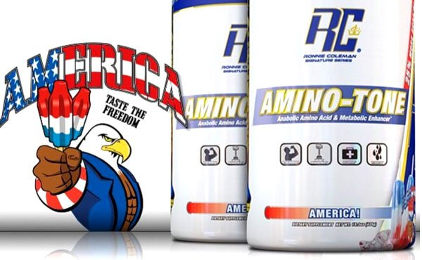 Signature Series tee free with America Amino-Tone at Suppz