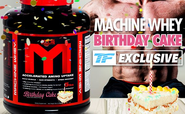 Birthday Cake  Whey Protein Powder