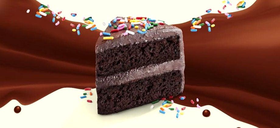 Chocolate Birthday Cake One Bar