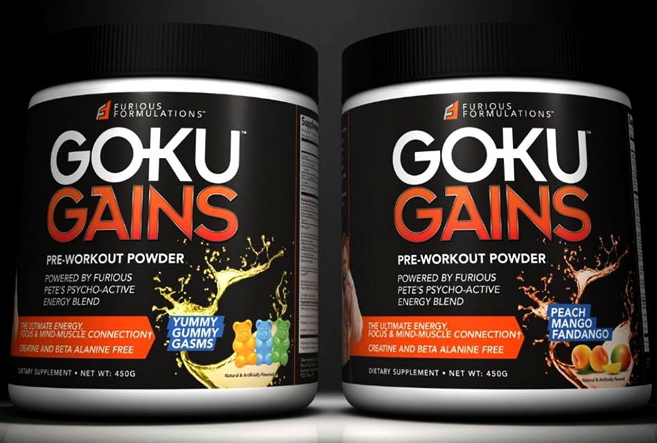 Goku Gains Pre Workout From Furious Pete S Furious
