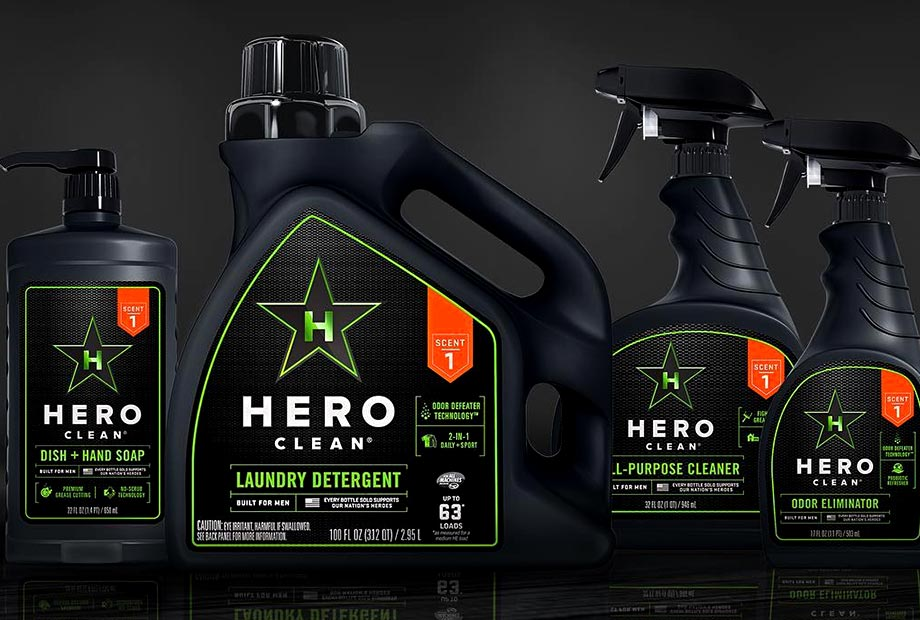 Hero Clean Products Designed To Eliminate Guys Odor