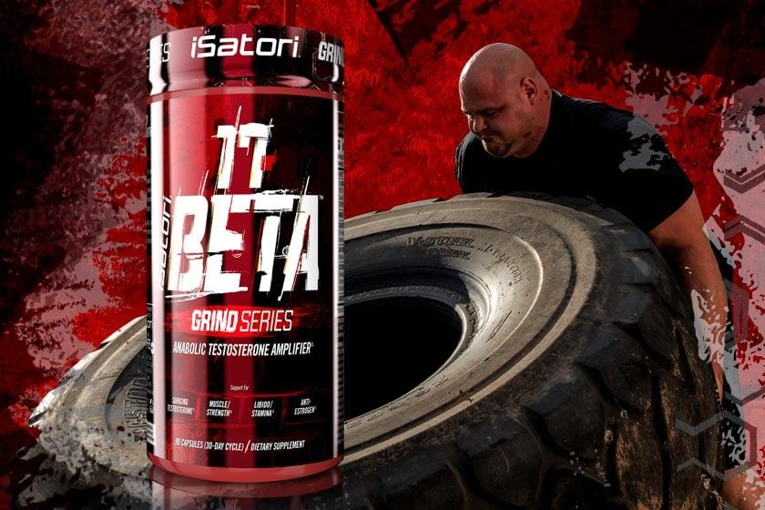 iSatori 17-Beta promoting increased testosterone and decreased estrogen