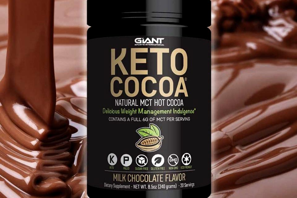 Keto Cocoa from Giant Sports a ketogenic hot chocolate