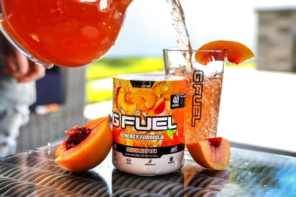 Gamma Labs Unveils Peach Iced Tea G Fuel By Lirik