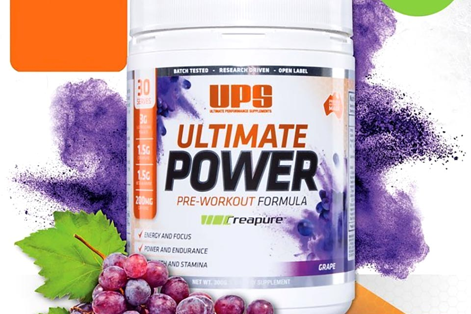 UPS Protein Ultimate Power