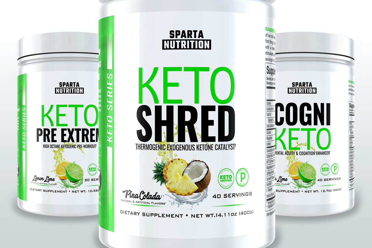 Sparta Keto Shred