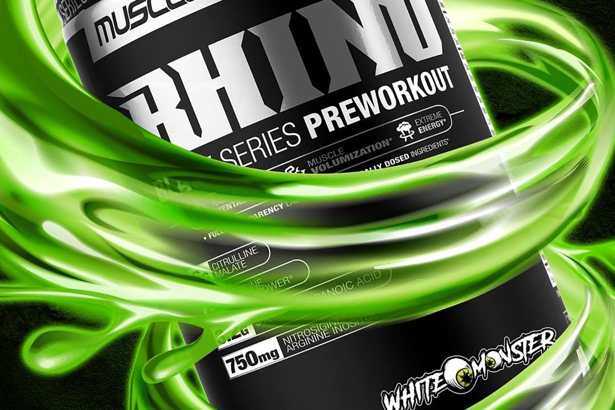 White Monster Rhino Black