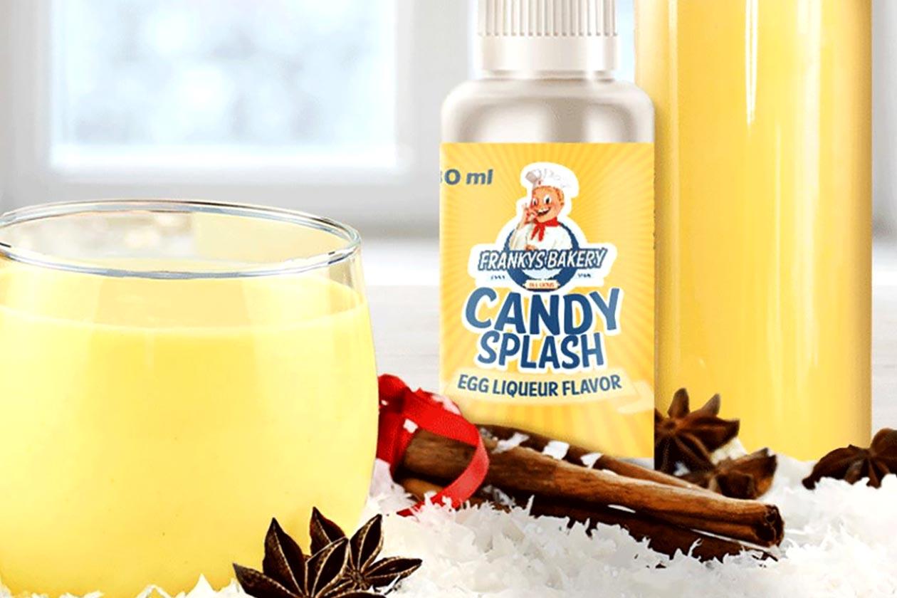 Frankys Bakery Eggnog Candy Splash