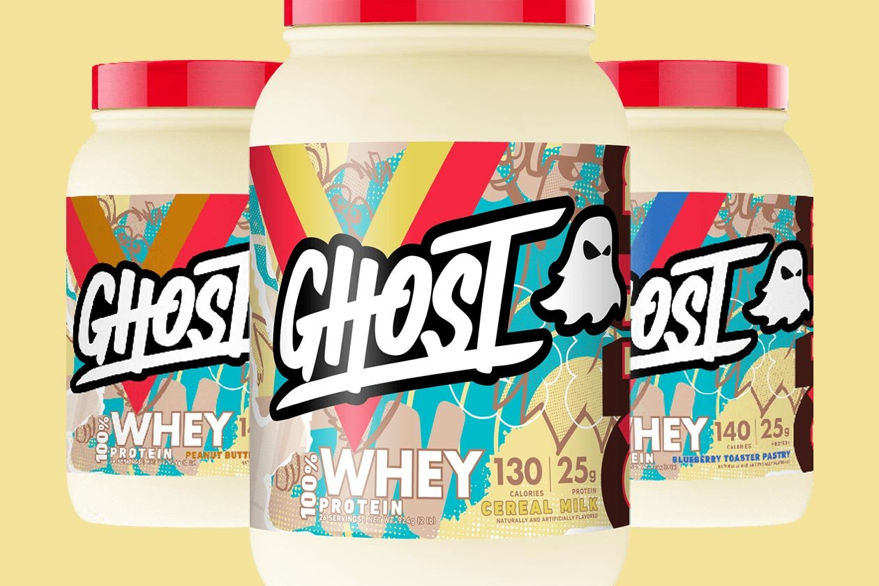 fruity cereal milk ghost whey