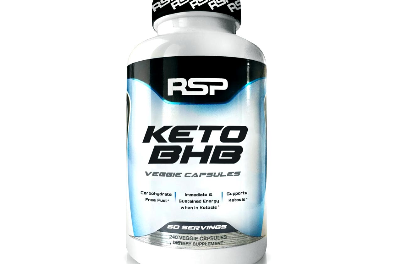 RSP Nutrition jumps into the ketogenic race with Keto BHB