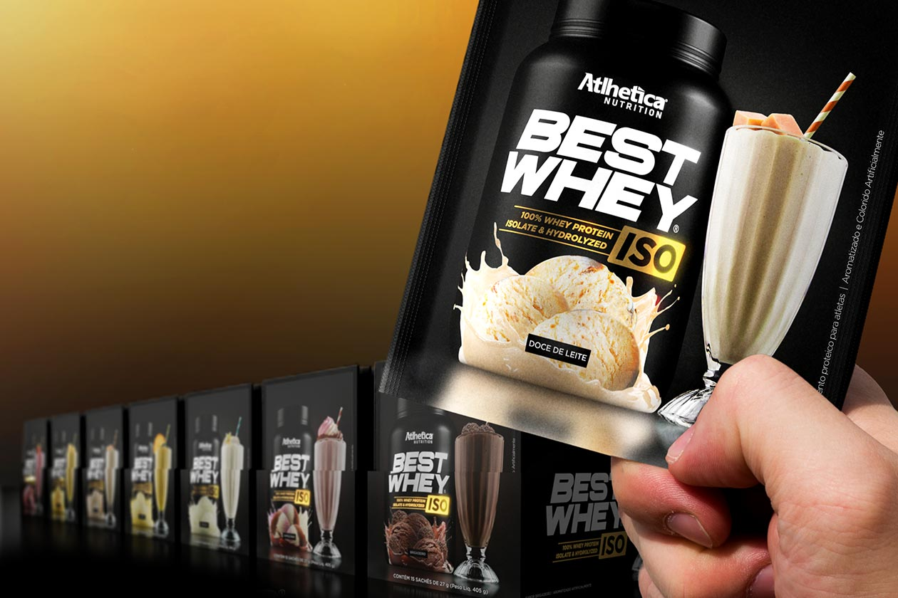 798942012 The Brazilian supplement company Atlhetica Nutrition has launched a more  convenient size option for its three-month-old Best Whey spin-off