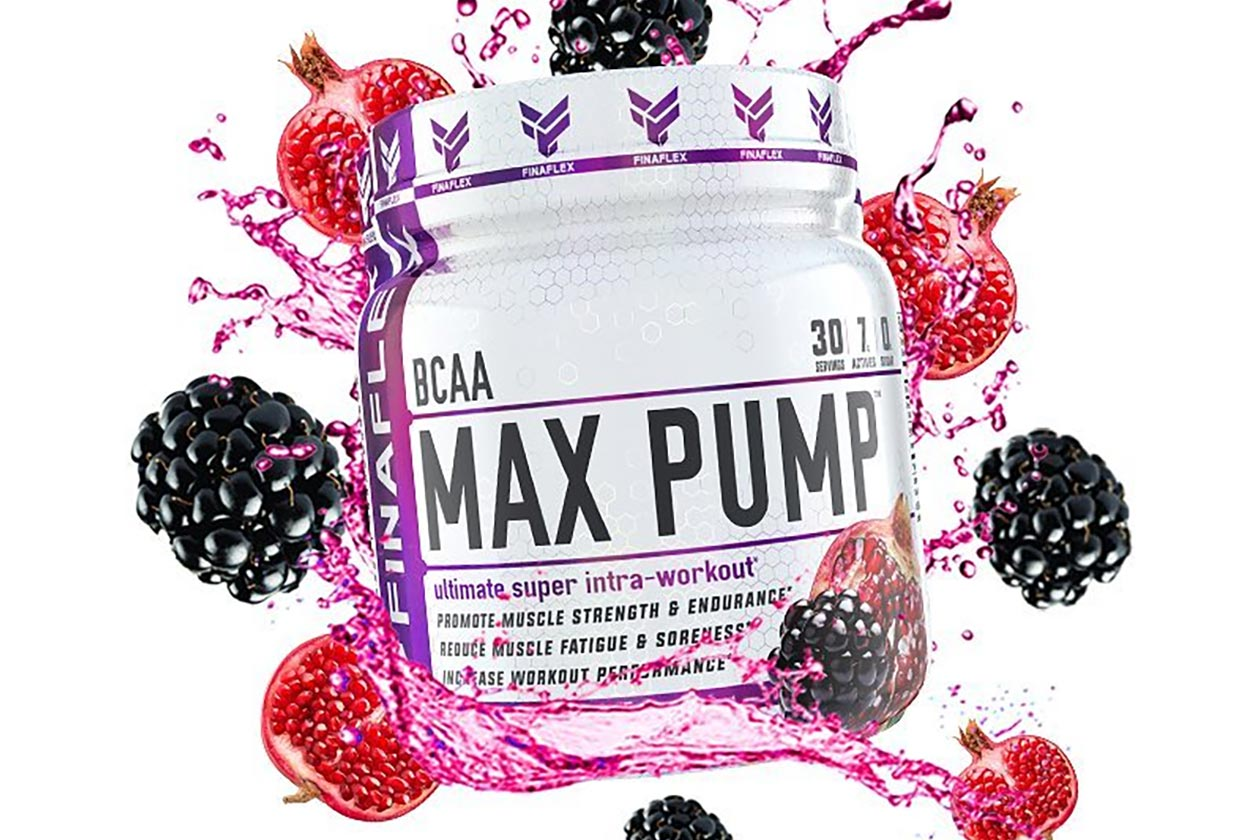 Blackberry Pomegranate max pump