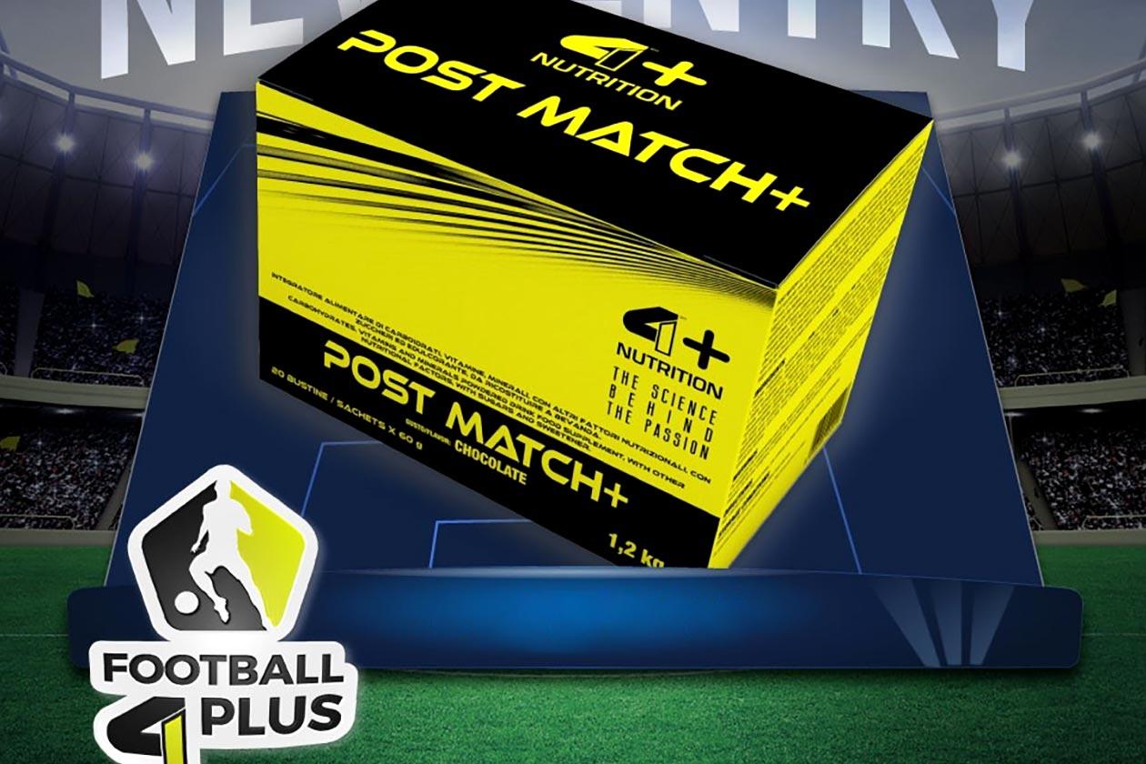 4 plus post match
