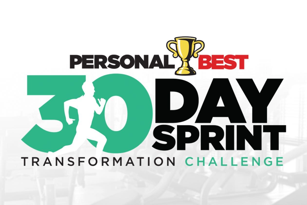man sports 30 day sprint