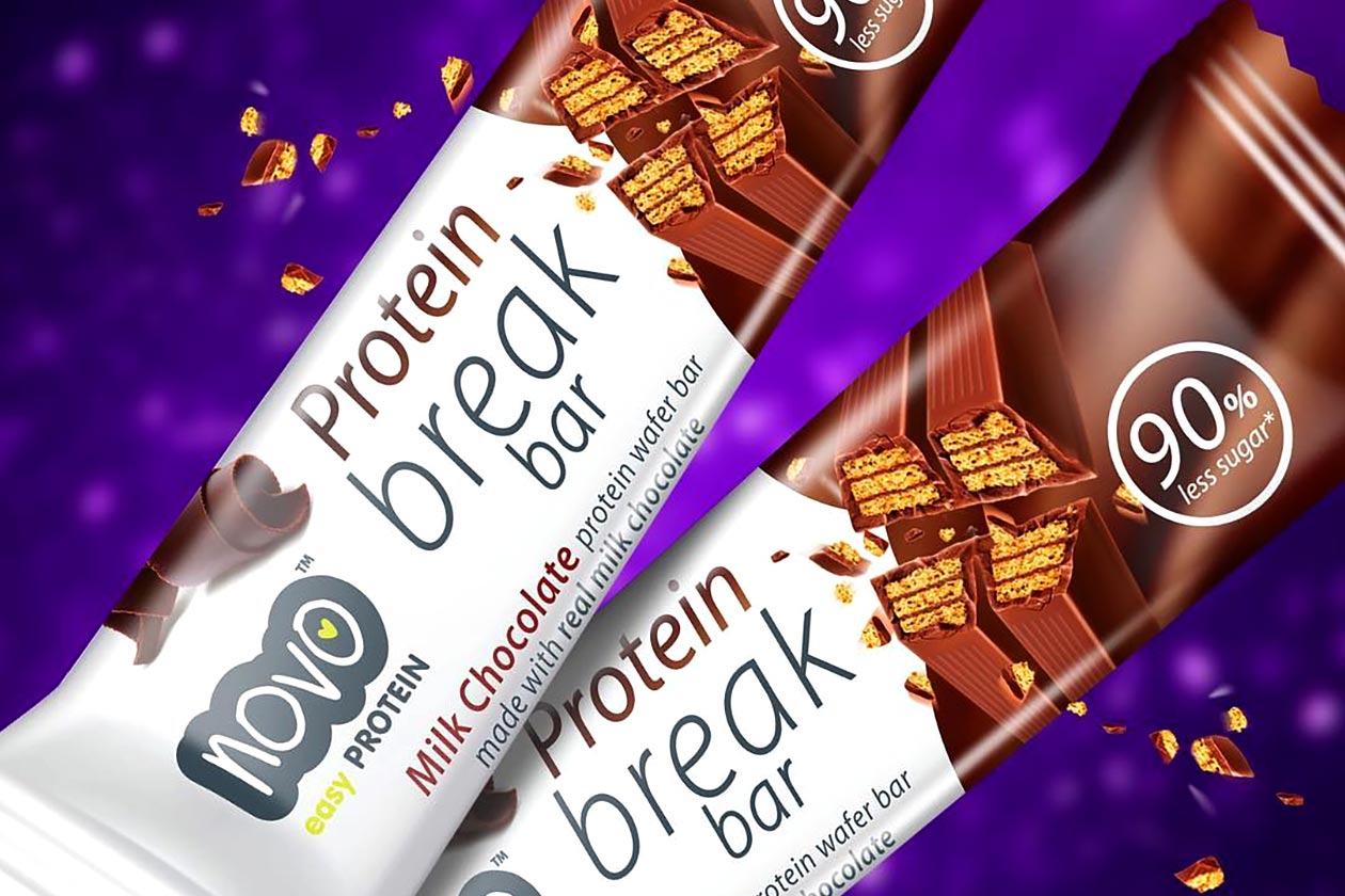 Novo unveils its Protein Break Bar made with real milk chocolate