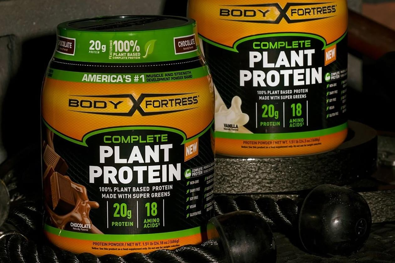 body fortress complete plant protein