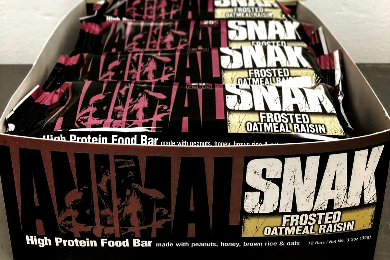 frosted oatmeal raisin animal snak