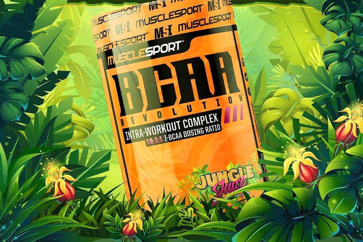 jungle juice bcaa revolution