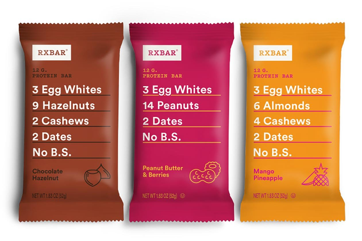 peanut butter berries rxbar