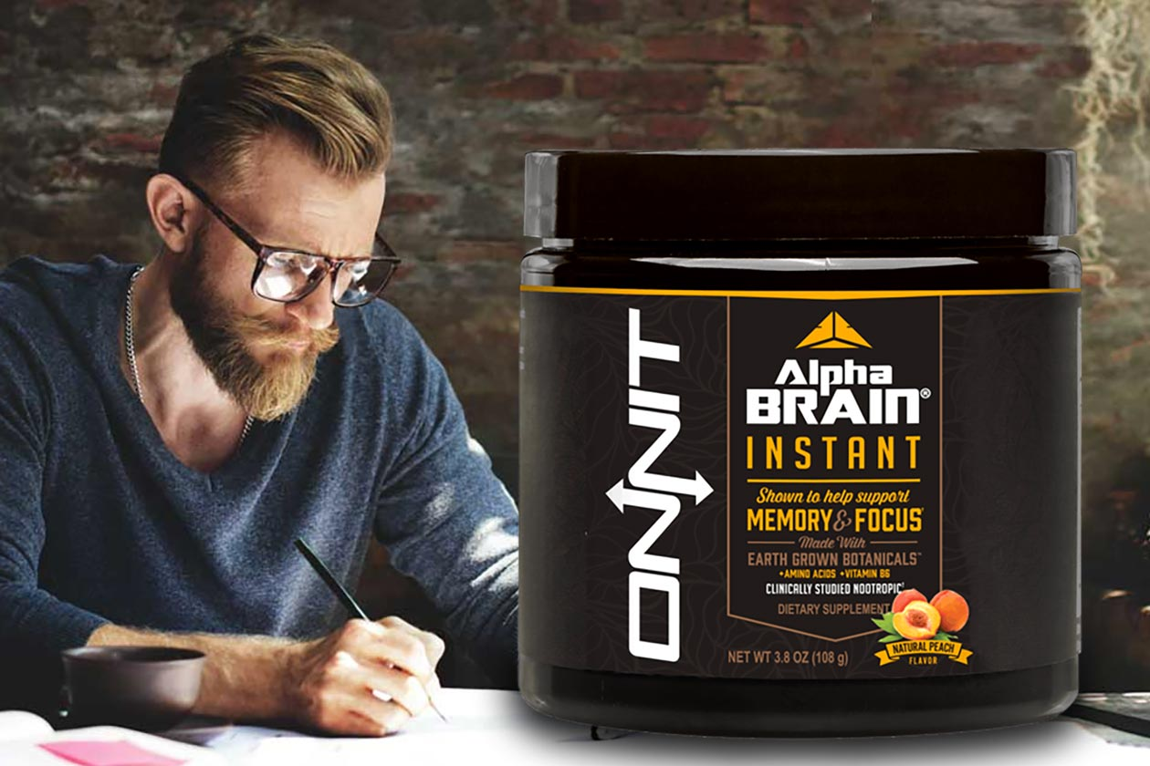 Onnit Releases A Slightly More Cost Effective Tub Of Alpha Brain Instant
