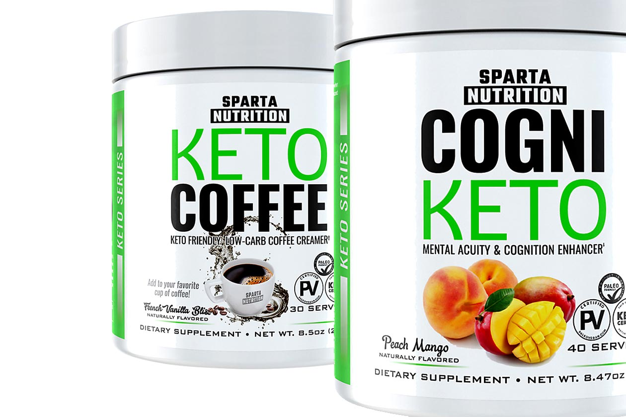 sparta nutrition keto series