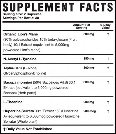 Magnum Introduces Mane Brain Its King Of Nootropic Supplements