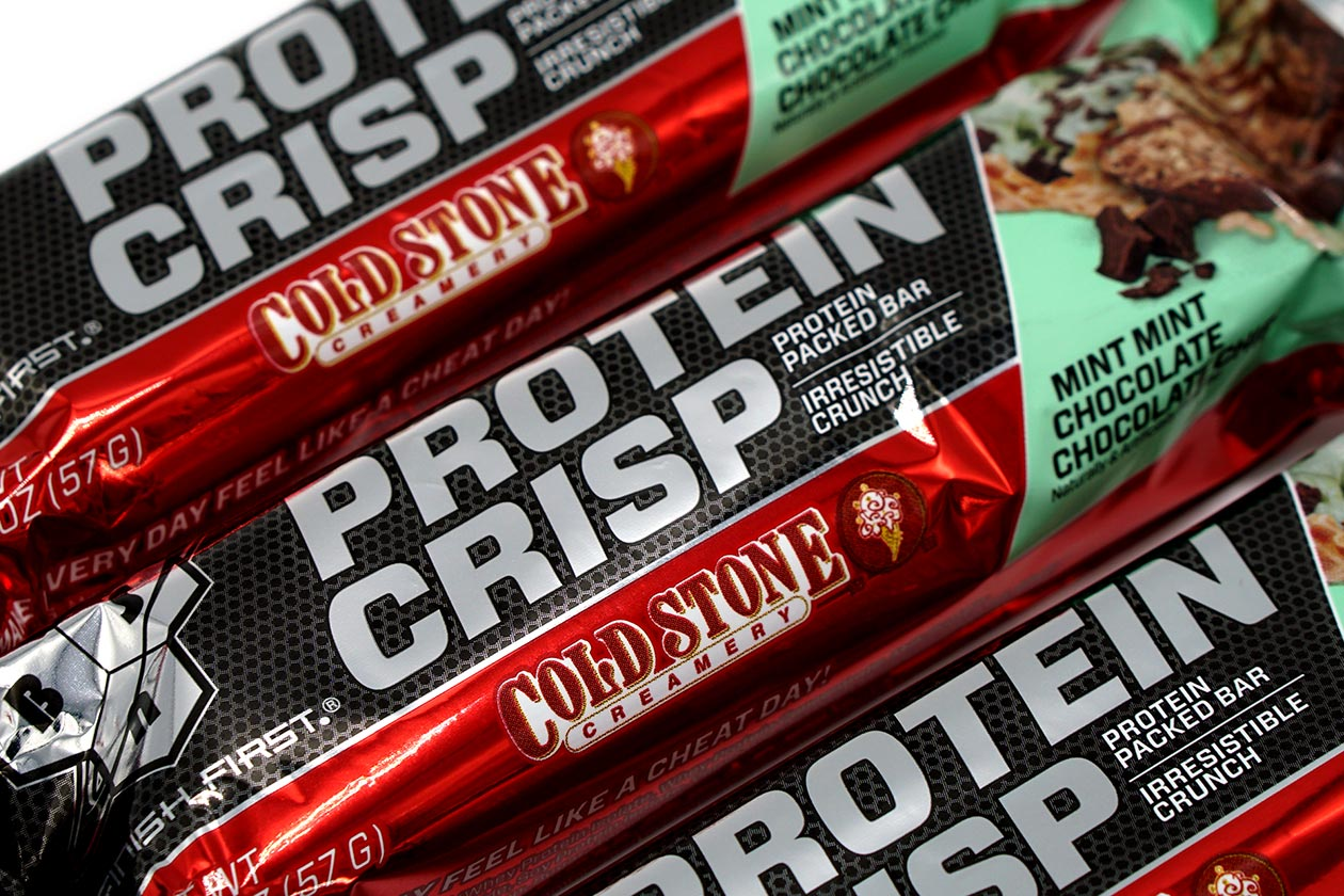 cold stone protein crisp review