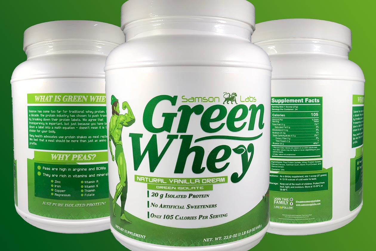 samson labs green whey