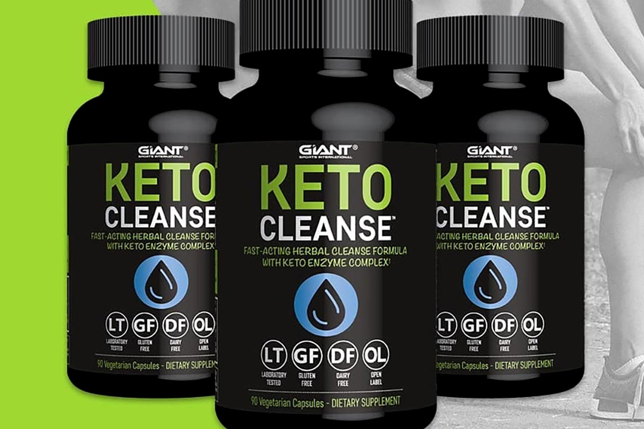 Giant Sports introduces its ketogenic cleansing formula Keto Cleanse