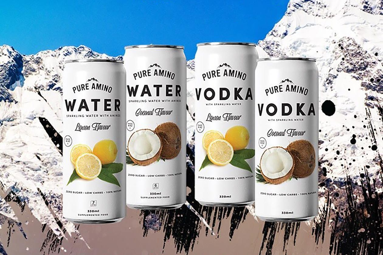 pure amino vodka
