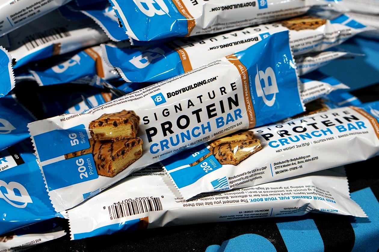 bodybuilding Signature Protein Crunch Bar