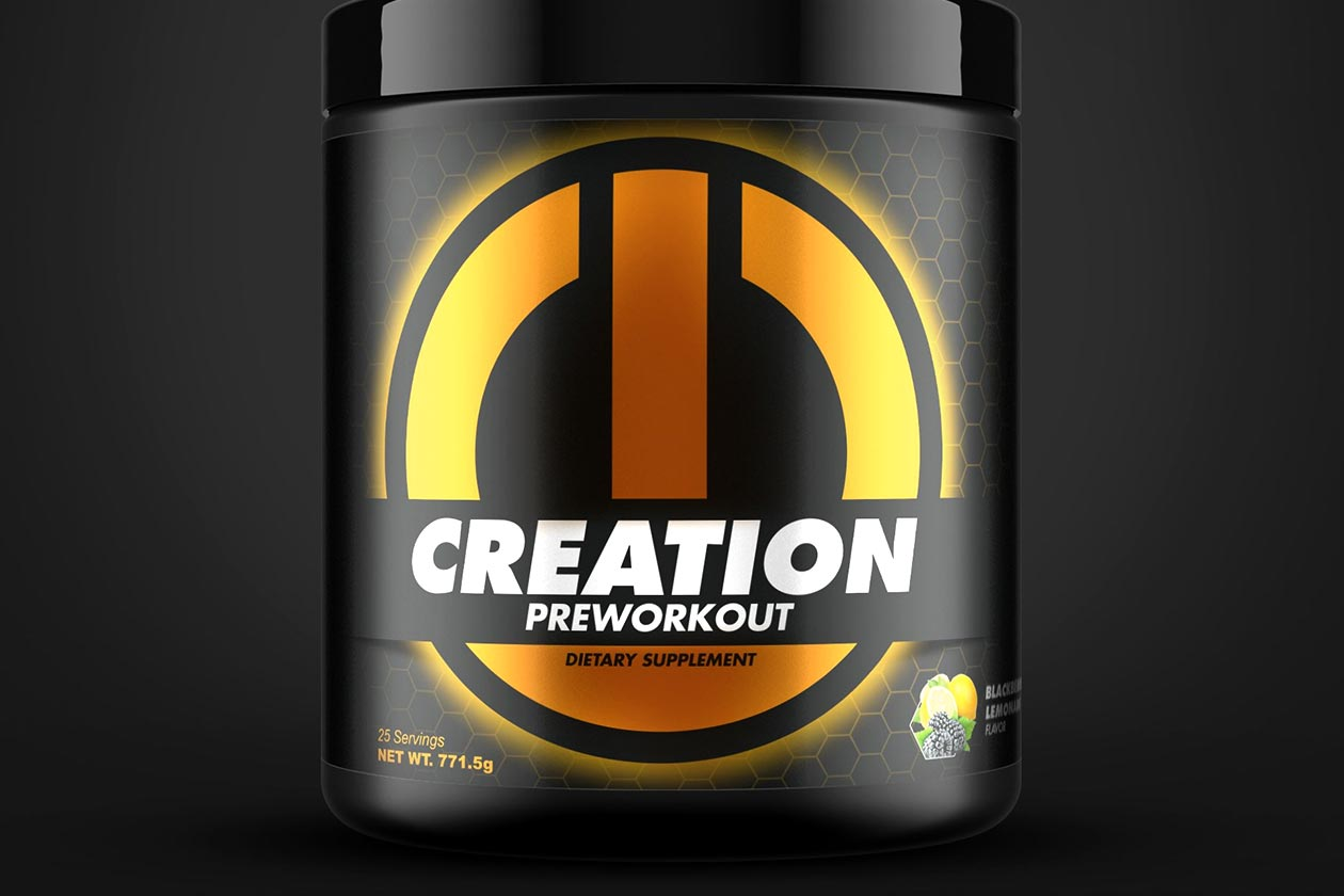 eon creation pre-workout