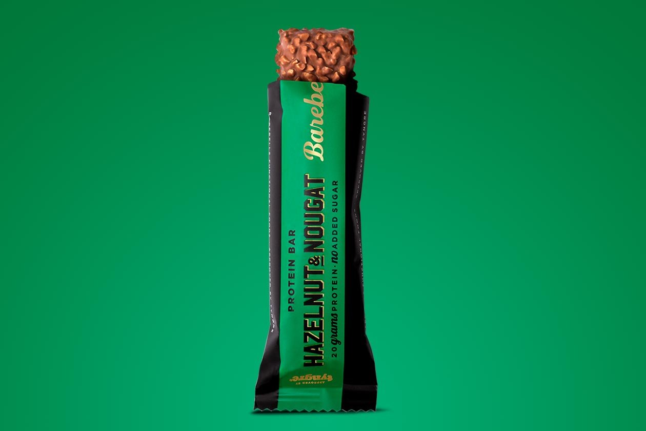 Barebells Protein Bar Is Getting A Great Looking Hazelnut