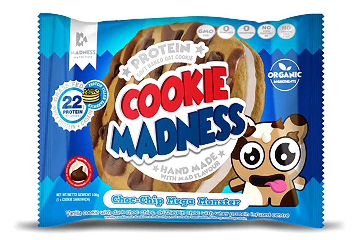 Choc Chip Mega Monster Filled Cookie
