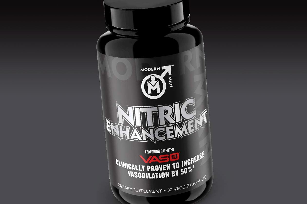 modern man nitric enhancement