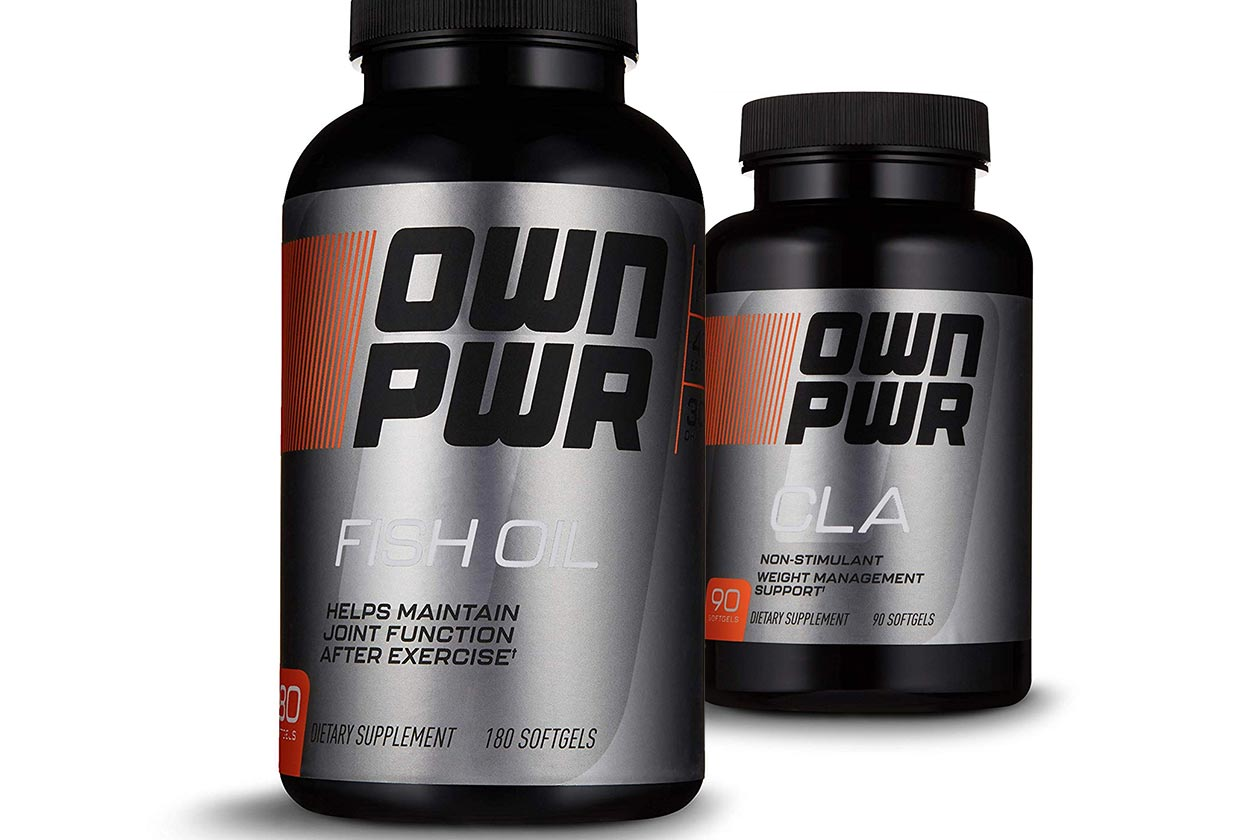 own pwr fish oil cla