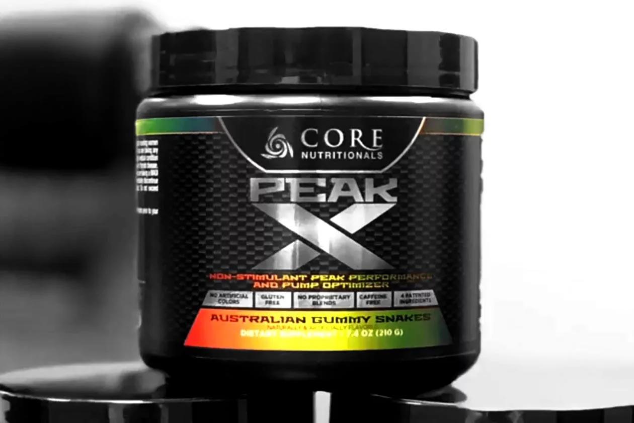 core peak x