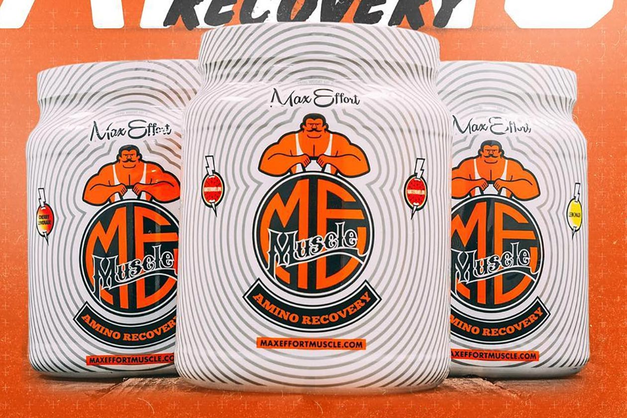 max effort amino recovery