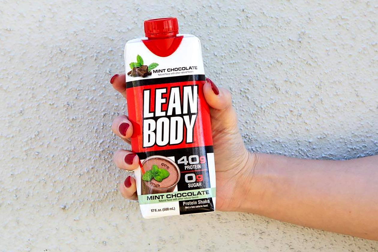 mint chocolate lean body