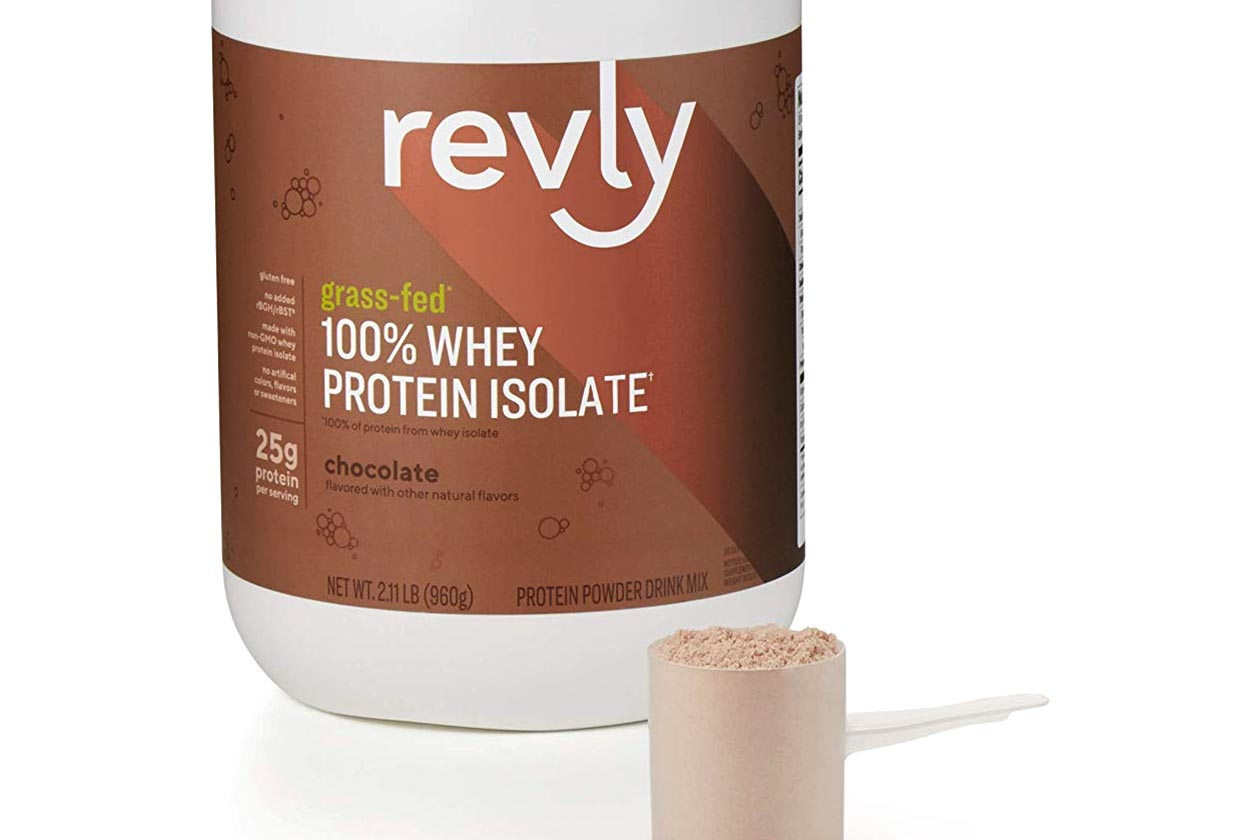 revly whey protein isolate