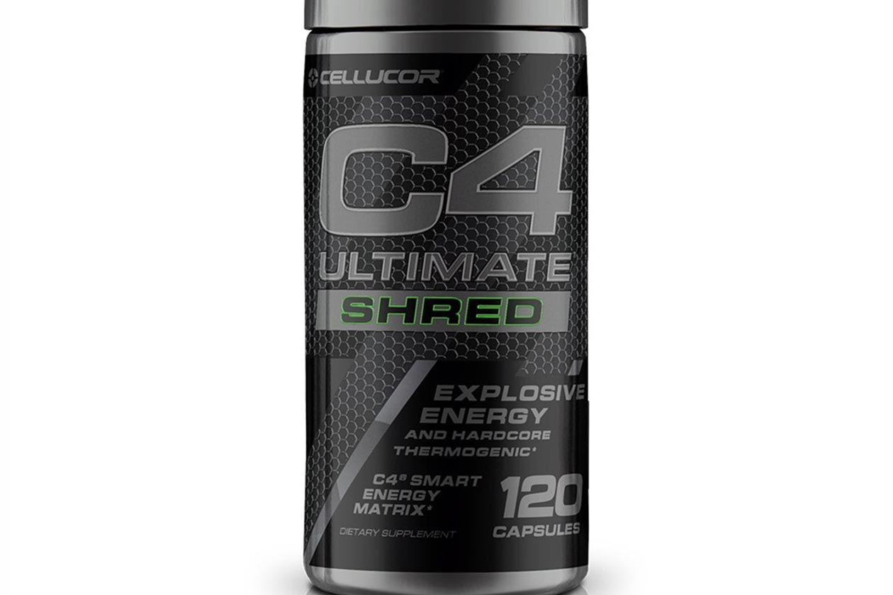 c4 ultimate shred capsules