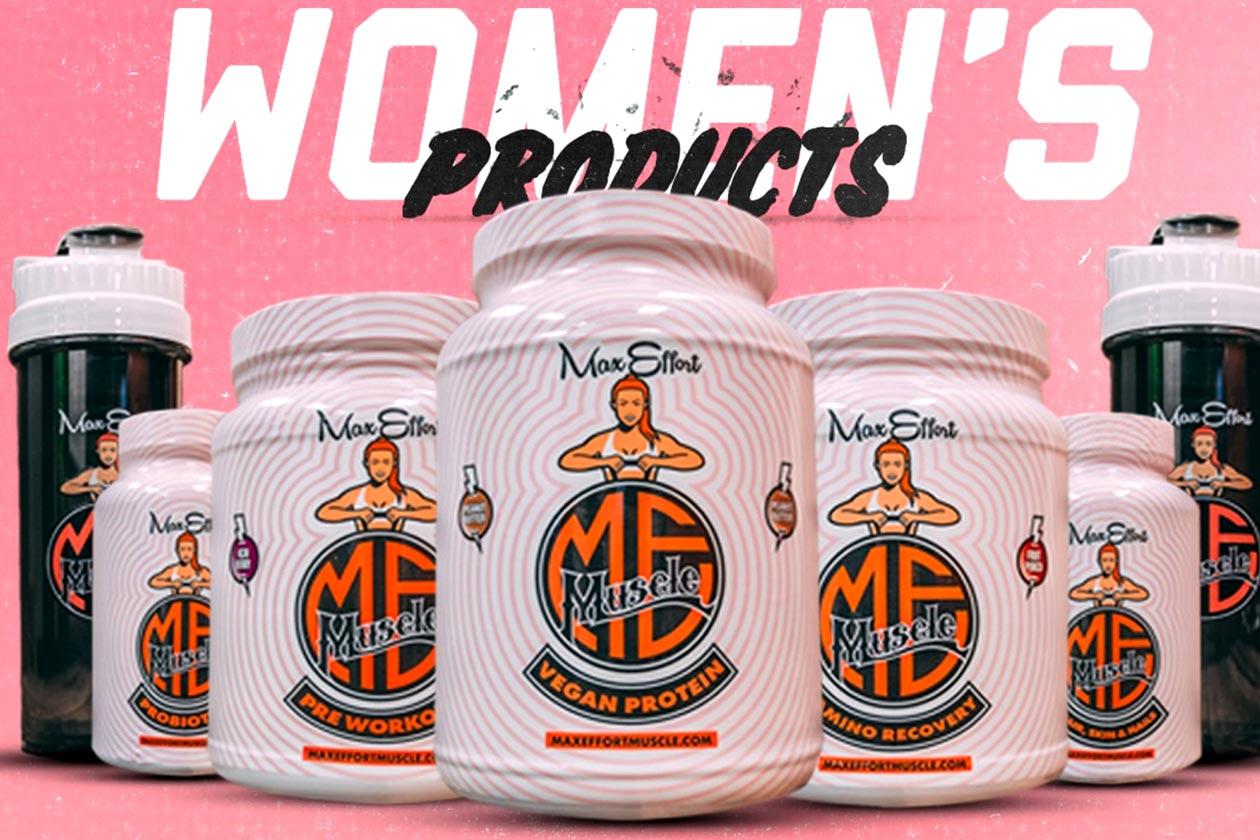 max effort muscle womens