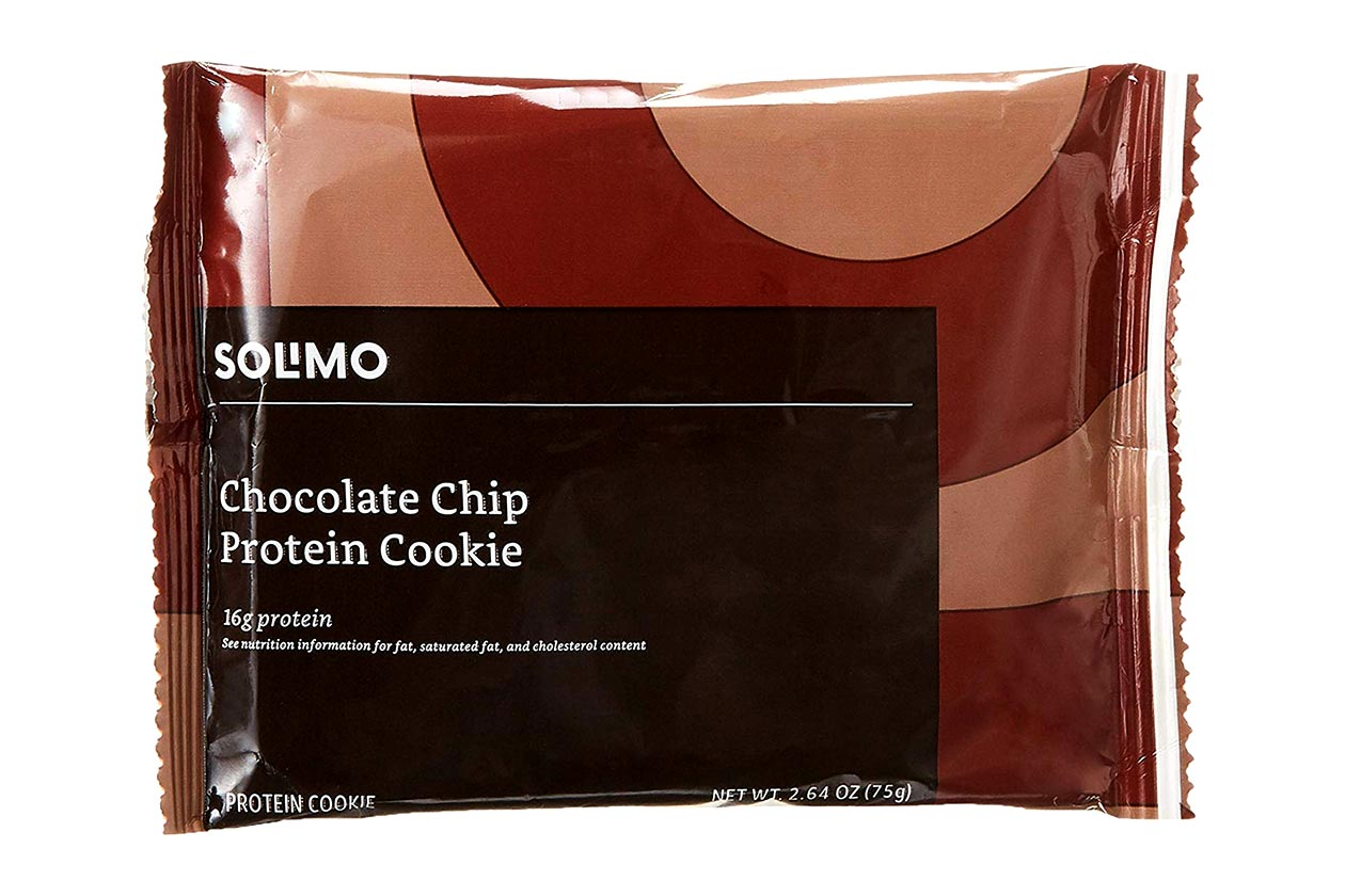 solimo protein cookie